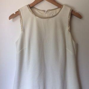 Liz Claiborne Shift Dress with Chain Detail